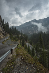 Road to Takakkaw Falls - Yoho National Park - BC (jack.mihlenstedt) Tags: canada rocky mountains landscape moody clouds nikon d750 1635mm filter alberta banff british columbia