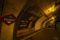 Qué bonita estás Chamberí... (cienfuegos84) Tags: chamberí metro madrid estación