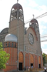 IMG_0538 (sally_byler) Tags: paroquia san joaquin cathedral church iglesia medellin laueles colombia achitecture