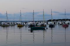 Nostalgie bretonne (Corinne Lejeune Girot) Tags: bateau boat mer sea bleu ciel sky blue plage beach sable sand nuage cloud été summer
