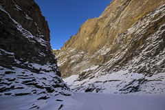 Colors of Frozen Ladakh (ChiragTitiya) Tags: india ladakh chadar mountains colors light shadow river clouds bluesky gorges sunlight sun daylight cold