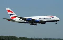 British Airways Airbus A380-841 G-XLEG / LHR (RuWe71) Tags: britishairways babaw speedbird iag internationalairlinesgroup unitedkingdom airbus airbusa380 a380 a388 a380800 a380841 airbusa380800 airbusa380841 gxleg msn161 fwwsk londonheathrow londonheathrowairport heathrow heathrowairport egll lhr widebody whalejet landing superjumbo