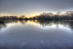 Sun's up (ArtGordon1) Tags: eppingforest london england uk leytonstone winter frozen reflections reflection hollowpond hollowponds davegordon davidgordon daveartgordon davidagordon daveagordon artgordon1 february 2019