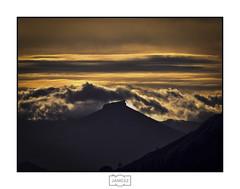 Peña Labra (Jose Antonio. 62) Tags: spain españa peñalabra silueta silhouette backlight contraluz mountains montañas clouds nubes