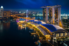 Singapore cityscape at dusk (anekphoto) Tags: singapore marina bay sands business cityscape landscape twilight skyline city night architecture building modern district asia evening sand landmark skyscraper view water high dusk reflection famous travel urban pool tourism tower panoramic scene asian financial panorama illuminated downtown hotel sky art scenery light outdoors sea office harbor scenic shadow river