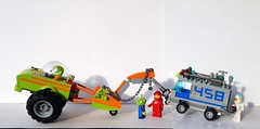 460 Followers - Febrovery 2019 06 (captain_joe) Tags: toy spielzeug 365toyproject lego minifigure minifig moc febrovery space rover car auto mikethemechanic alien counting