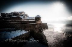 Some snow on the sand (steff808) Tags: france francia ajaccio nikond300s snow neige nikon1685 sea sand