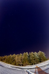 Winter Stars (DmitryYushkevich) Tags: canon canon6d 6d zenitar16 zenitar fisheye russia russianlens russianwinter winter snow sky starsky nightphotos nightscene nightshots naturallight