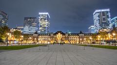 Tokyo Station. 🚂 (Kan_Rattaphol) Tags:
