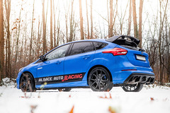 Focus RS-2 (Massard Kevin) Tags: rouge bleu blue ford focus rs performance canon 5d mark 2 l snow sport car cars
