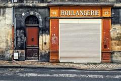 La boulage rit (Isa-belle33) Tags: architecture urban urbain city ville storefront shop devanture magasin boutique door porte boulangerie bordeaux fujifilm wall mur old ancien street streetphotography