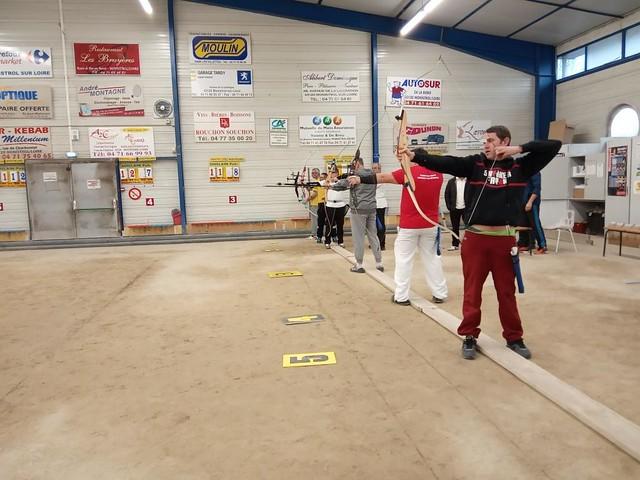 Championnat Inter-Départemental ouvert de Tir à l'Arc Sport Adapté - Monistrol-sur-Loire (43) - 16 décembre 2018