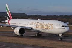 Boeing 777-300ER A6-ECT Emirates (Mark McEwan) Tags: boeing boeing777 b777 boeing777300er a6ect emirates aviation aircraft airplane airliner edi edinburghairport edinburgh