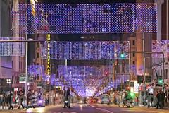 Nochebuena (Mariano Alvaro) Tags: luces navidad nochebuena madrid gran via centro capitol noche trafico