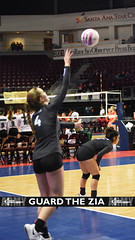 Goddard 3 (GuardTheZia) Tags: newmexico nmaa state volleyball championships blue trophy santaana star center goddard rockets