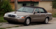 2004 Mercury Grand Marquis GS (FromKG) Tags: mercury grand marquis ls beige car sedan kragujevac serbia 2015