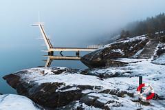 Divingboard off season (jonarnefoss2013) Tags: fjord akershus architecture bauhaus ingierstrand