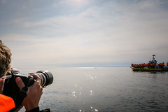Whale Photographer or Boat Photographer? (GlobalGoebel) Tags: canon g9x pointandshoot quebec canada whale watching baiestcatherine baiesaintcatherine st saint lawrence river croisieresaml tadoussac travel travelphotography