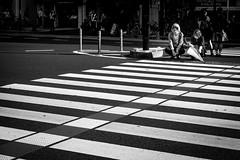 Tokyo Crossings (teresapilcher) Tags: japan street streetphotography sony sonymirrrorless monochrome explore travel tokyo