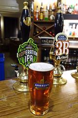 Arkell's Hoperation IPA - Royal Wootton Bassett, UK (Neil Pulling) Tags: arkells hoperation iparoyal wootton bassett uk realale beer pint beerpump beerengine