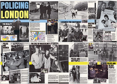 """Policing London 1 (hoffman) Tags: poster policinglondon glc exhibition davidhoffman davidhoffmanphotolibrary socialissues reportage stockphotos""""stock photostock photography"""" stockphotographs""""documentarywwwhoffmanphotoscom copyright"""