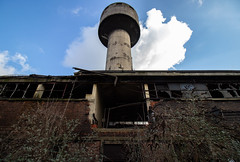 Watertower (Hooismans) Tags: abandoned abandon abandonné abandonnée abbandonato abbandonata ancien ancienne alone architecture explorationurbaine exploration explore exploring empty explo explored distillery trespassing rust rusty ruins rotten urbex urban urbain urbaine urbanexploration interdit interior inside inexplore old past photography decay decaying derelict dust decayed dusty forgotten forbidden lost light nobody neglected building verlassen creepy huge industrial factory ceiling people arch road sign tree sky coal mine mining coalmine cokes cokesplant steel