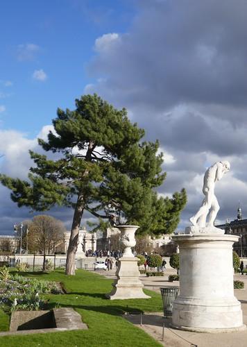 Jardin des Tuileries, Paris Ier, Île-de-France, France.