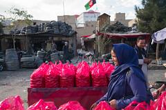 Kabul-1007573 (jeromestarkey) Tags: afghanistan bazaar bazar blue colour dailylife dun kabul market muradkhane red shopping stall streetlife streetscape tomato veil woman