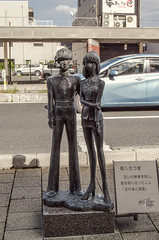Tsuruga Symbol Road Monument (Suliveyn) Tags: japan tsuruga symbol road monument leiji matsumoto space battleship yamato