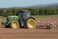 John Deere 6140R Tractor with a Gregoire Besson 4 Furrow Plough (Shane Casey CK25) Tags: john deere 6140r tractor gregoire besson 4 furrow plough jd green coolagown castlelyons traktor traktori tracteur trekker trator ciągnik ploughing turn sod turnsod turningsod turning sow sowing set setting tillage till tilling plant planting crop crops cereal cereals county cork ireland irish farm farmer farming agri agriculture contractor field ground soil dirt earth dust work working horse power horsepower hp pull pulling machine machinery nikon d7200