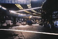 Tikiji Moving (tripl8_i) Tags: tokyo tukiji 東京 築地市場 yashica electo35mc yashinondx 40mm28