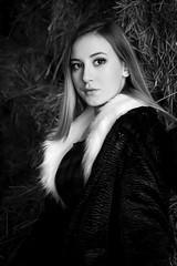 Maya Lisa Dec 2018-1 (Claude Tomaro) Tags: claude tomaro maya royale equestrian centre ottawa ontario canada portrait bw blackandwhite black white