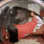 IMG_9334 Marianne Stokes. 1855-1907.    La Jeune Fille et la Mort.  The Girl and Death  Vers 1906.  Paris Orsay. thumbnail