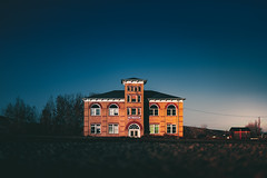Loma (ashercurri) Tags: abandoned school grand junction landscape urban sony a7ii sky co colorado