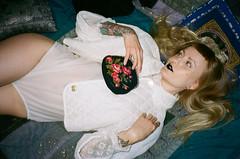 Emilia for KiMEÄ (amanda aura) Tags: film helsinki finland canonprima interior clothes friend