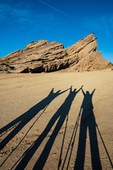 Tripod Shadow Selfies (SCSQ4) Tags: aguadulce alfredovarela california christineho donutstreetmeet favorite favoritepicture scottcrawford shadowselfies shadows tripodselfies vasquezrocks