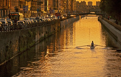 Golden Milan (Dario654321) Tags: milano italy italia milan lombardia golden light sport travel europe navigli naviglio landscape cityscape