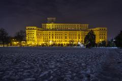 Palace of the Parliament @ Izvor Park (αpix) Tags: palace parliament palatul parlamentlui casa poporului republicii izvor bucharest bucuresti sony alpha night lights romania
