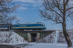183 003 gen München (ice91prinzeugen) Tags: br 183 taurus alex alx netinera die länderbahn