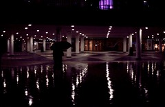 In the future to come (fromfarbeyond) Tags: asa100 ektar 50mm work gateway reflections abstract rain umbrella sergelstorg stockholm photography color analogue analog film takumar pentax spotmatic kodakektar