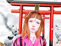Pink no Kimono 2 (❀✿ Kate ✿❀ !cream spaghetti hair!) Tags: fair event gacha fashion kimono