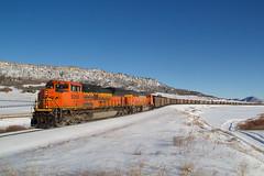BNSF 9266 Spruce 13 Jan 19 (AK Ween) Tags: bnsf bnsf9266 emd sd70ace spruce colorado sprucemountain thesag train railroad