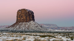 Pink Sky Morning (Star Wizard) Tags: monumentvalley arizona unitedstates us
