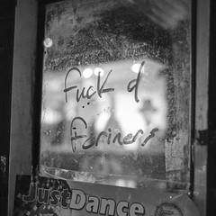 Xenophobia (Shaka1277) Tags: adaptedlens adapted manual fuji fujifilm xt2 street streetphotography dublin dublincity night nighttime xenophobia racism political education monochrome mono monochromatic blackandwhite