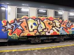 Rome 2010 (Heavy Gyroscope) Tags: graffiti rome graff graffititrain grafftrain romegraffiti