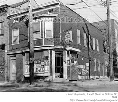 1964 heintz superette (albany group archive) Tags: albany ny history 1964 heintz superette corner store north swan street colonie arbor hill market 1960s old vintage photos picture photo photograph historic historical
