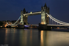 London - Tower Bridge (Hervé LE JEUNE) Tags: london river thames bridge uk