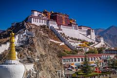 the Potala Palace, Lhasa, Tibet (CamelKW) Tags: tibet2018 potalapalace lhasa tibet china cn