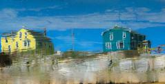 2-01-19-peggy's cove_ (lisasteduto) Tags: peggys cove reflection nova scotia canada colors houses beach house