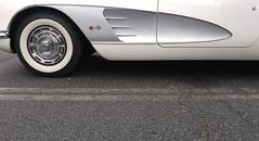 1960 Corvette side vent (Light Orchard) Tags: car auto automobile sports antique classic vintage old restored chevrolet chevy corvette vette 1960 american ©2019lightorchard bruceschneider